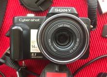 sony camera 8.1 megapixel cyber shot