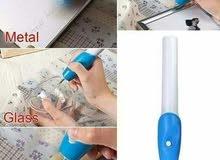 القلم الحفار علي الأجسام الصلبة