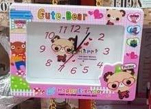 ساعات لغرف الأطفال بأشكال رائعة