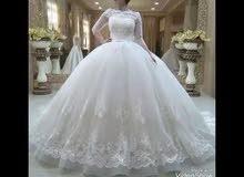 فستان فرح جديد للبيع