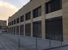 مخازن للايجار البيادر- المنطقة الصناعية + جدارية اعلانات
