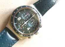 ساعة سواچ سويسري اصلي .. بيع او مراوس ..