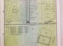 للبيع ارض سكنية في المعبيلة السابعة قرب جامع حي السلام