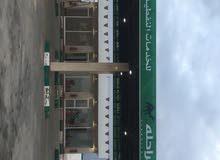 محطة وقود في بنغازي