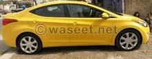 مطلوب سيارة ألنترا 2013 صفرة بسعر مناسب