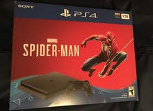 1 terabyte PS4  + Spider-Man game