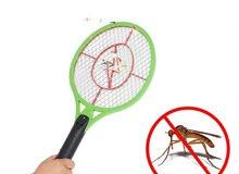 مضرب ناموس كهربائي الشحن لصعق الحشرات الطائره
