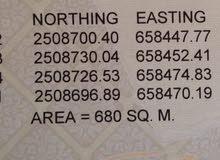 أرض للبيع في ولاية ابراء سيح العافية، قبل مدرسة سيح العافية من المالك مباشرة