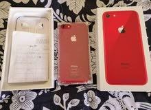 ايفون8 جديد ( أحمر)