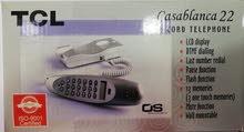 عرض جديد على هاتف سلكي TCL
