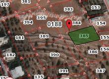 ارض للبيع مساحه 1035 متر