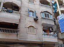 شقة بالدور الأول العلوي تصلح للسكن وعيادة وحضانة