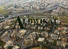 ارض للبيع في اجمل مناطق ام اذينة , مساحة الارض 2303م - مساحة البناء 800 م