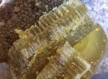 عسل طبيعي سدر وجبلي صافي100٪