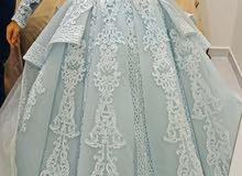 فستان خطوبه تصميم سوري للبيع