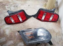 Ford mustang head light driver said and tail lights