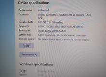 Warranty 6 months include   Ram GB 8 i7 intel 10th GEN NVIDIA GEFORCE MX130 2GB