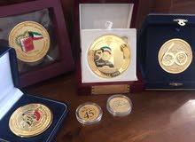 مجموعة نادرة من الميداليات التذكارية الكويتية التاريخية