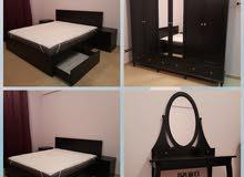 غرفة نوم كاملة بحالة الوكالة