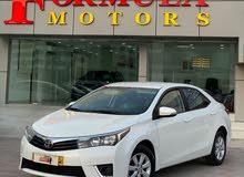 للبيع فقط تويوتا كرولا محرك 2.0 وكالة عمان صيانة الوكالة