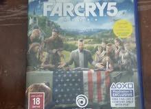 لعبة farcry5 بسعر مناسب جدا ps4