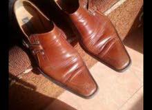 حذاء ايطالي جلد طبيعي لون مميز
