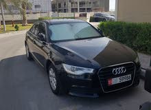 Audi A6 GCC Full option 2014 service history available