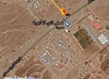 فرصه أرض للبيع ولايه الخابوره مقابل نادي الخابوره مخطط السرحات في موقع ممتاز