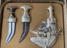 تم تخفيض السعر من 450 الى 375 فقط خنجر سعيدية جديدة ب 3 قرون مختلفه