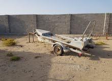 للبيع عربه سحب قوارب
