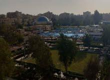 فيو نادي الغابة موقع مميز بمصر الجديدة للسكن فقط رخام مستويين175م