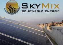 نظام طاقة شمسية للمنازل