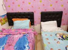 2 سرير اطفال نظيف جدا مع 2 مرتبه من أمريكان بد