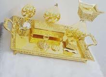 طقم كامل للبخور  مطلي بذهب  الون لا يتغير ,, لتواصل 0578047298