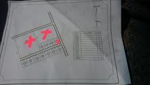 ارض بجامع الزطارنه مقسم للبيع