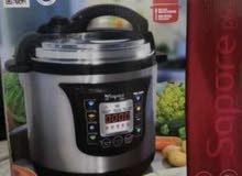 حلة ضغط بالسون كهربية تحتوي على عدة برامج طهي