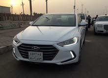 Hyundai Elantra 2018 For sale - White color