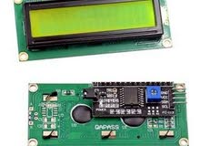 16×2 LCD I2C for Arduino ,شاشة رقمية تشبك على I2C