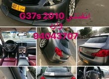 Used condition Infiniti G37 2010 with 10,000 - 19,999 km mileage