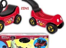 سيارة اطفال و عربة ميكي ماوس ماركة نيو بوي