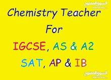 مدرس كيمياء للمناهج الوطنية والاجنبية IGCSE.SAT.IB