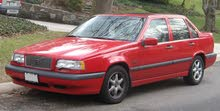 Red Volvo 850 1997 for sale