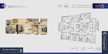 شقة ارضي الى السطح 135.56متر للبيع في مسقط القرم