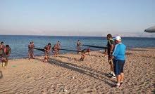 تاجيرشاليها ت تتسع 4 اشخاص مع برك سباحة علي الشاطئ الجنوبي