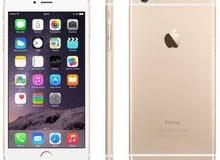 أيفون 6 بلس 64 جيجا بحالة الوكالة ولا شخطه لون ذهبي للبيع أو للبدل على نوت 8