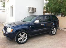 Blue Jeep Grand Cherokee 2005 for sale