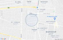 قطع ارض للبيع المساحه 310م واجه 10.60م العنوان الداودي مدخل هيل وزعفران
