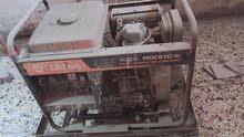 مولدة كهرباء گاز+لحيم للبيع