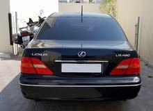 LEXUS LS430 2002 BLACK/BLACK