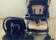 عرباية وكرسي اطفال